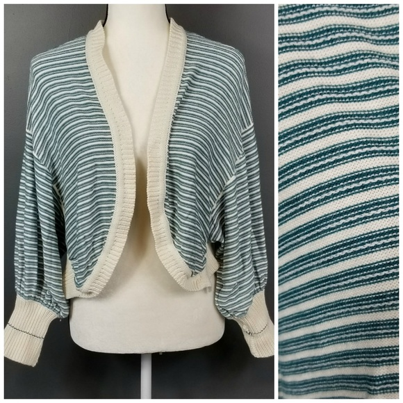 Anthropologie Sweaters - ANTHROPOLOGIE Moth Striped Cardigan XS!